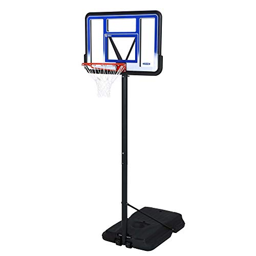 Lifetime 1270 Pro Court Portable Basketball System, 42 Inch Backboard