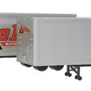 Walthers SceneMaster – 40′ Trailer 2-Pack – Assembled — Delta Motor Lines – HO by Walthers Scenemaster 31S7B2QHcSL