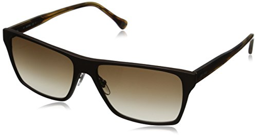 31S9tsKw54L Rectangular sunglasses featuring logo at left temple and clear adjustable nose pads 100% UV protection coating Prescription-ready lenses