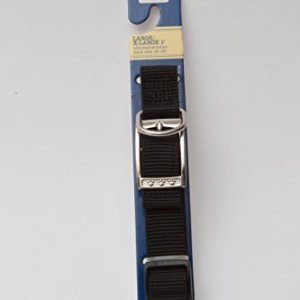 ASPCA Black Large/X-Large 1 Dog Collar - Adjustable Neck Size 16-26 9