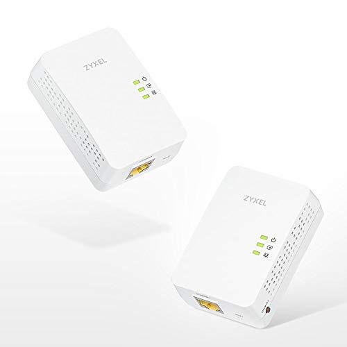 Zyxel Powerline AV1200/1300 Ethernet Adapter 2-Pack [PLA5405V2KIT]