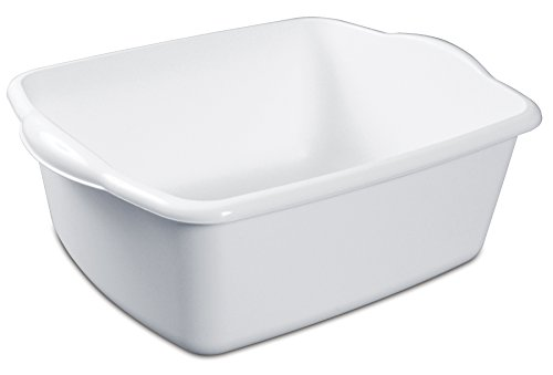 Sterilite White 12Qt Dishpan