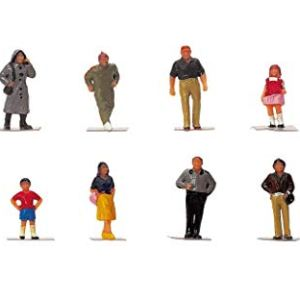 Hornby OO Gauge Town People 1:76 Scale Miniature Figures for Model Train Layouts R7116 31SsJ3zGkWL