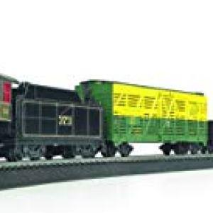 Bachmann Trains – Chessie Special Ready To Run Electric Train Set – HO Scale 31T 5L16xOL