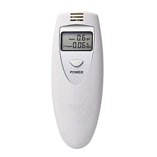 Portable Mini Digital Display Alcohol Tester Professional Breathalyser Breath Alcohol Tester Detector