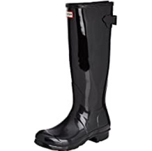 Hunter Womens Original Back Adjustable Gloss Rain Boot