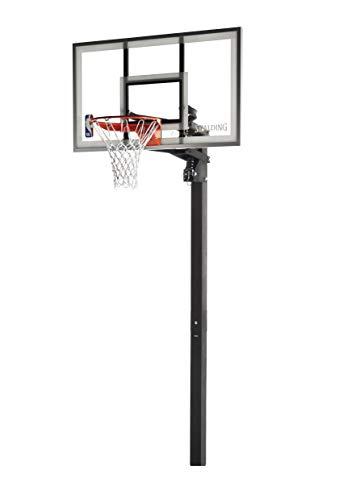 Spalding 88454G NBA 54 Inch Glass Backboard In Ground Basketball...