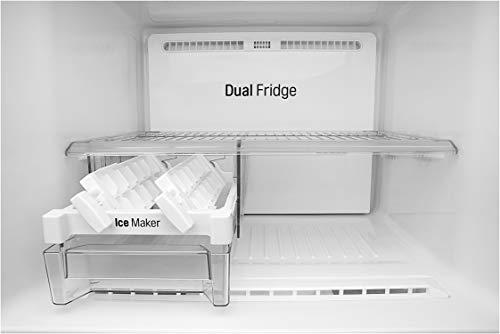 31TRQtyx8 L LG 284 L 3 Star Inverter Frost-Free Double Door Refrigerator (GL-T302RPZN, Shiny Steel)