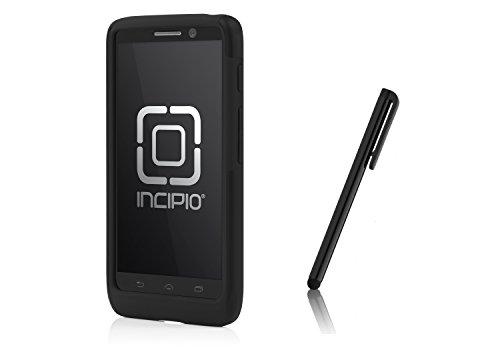 Incipio DualPro Dual Layer Case and Stylus for Droid Mini – Black