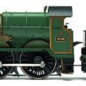 Hornby R3167 BR 4-6-0 4000 Star Class Glastonbury Abbey Steam Locomotive 31TfBL16GnL