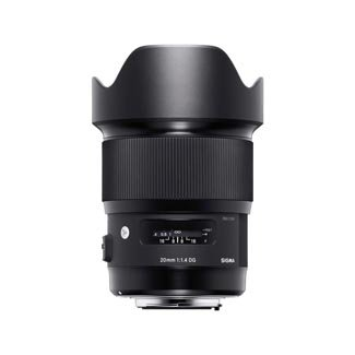 Sigma 20mm F1.4 Art DG HSM Lens for Nikon