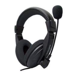 31UA2vXgP L - XuBa Head-mounted Ergonomics Computer Stereo Gaming Headphone with Microphone black