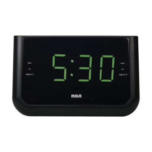 USB Charging Large Display Clock Radio