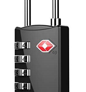 DOCOSS TSA Approved Metal Luggage Padlock