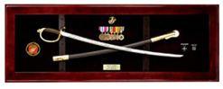 USMC Sword Display Sword Case