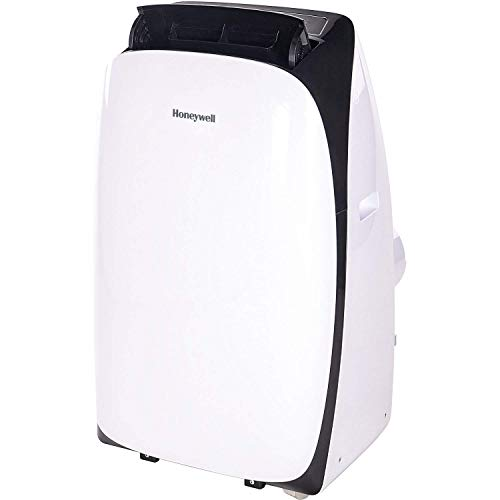 Honeywell 14000 Btu Portable Air Conditioner, Dehumidifier & Fan for Rooms Up to 550-700 Sq. Ft with Remote Control, HL14CESWK, White & Black