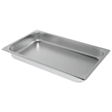 HUBERT-Chafing-Dish-Food-Pan-Full-Size-Stainless-Steel-21-L-x-12-34-W-x-2-12-H