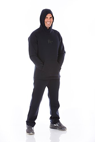 Kutting Weight (Cutting Weight Neoprene Weight Loss Hoodie (Sauna Suit Hoodie, XL)