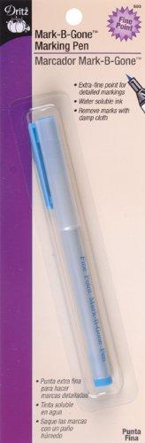 Dritz Mark B Gone Marking Pen for Sewing, Blue