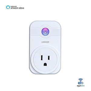 Smart WIFI Socket Wireless Plug Outlet Compatible with Alexa Echo