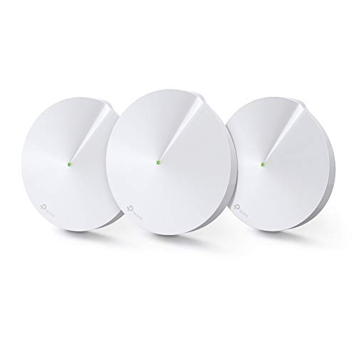 TP-Link Deco Powerline Hybrid Mesh WiFi System - Mesh WiFi + Powerline Through The Walls, Seamless Roaming, Homecare Support, Works with Alexa (Deco P7)