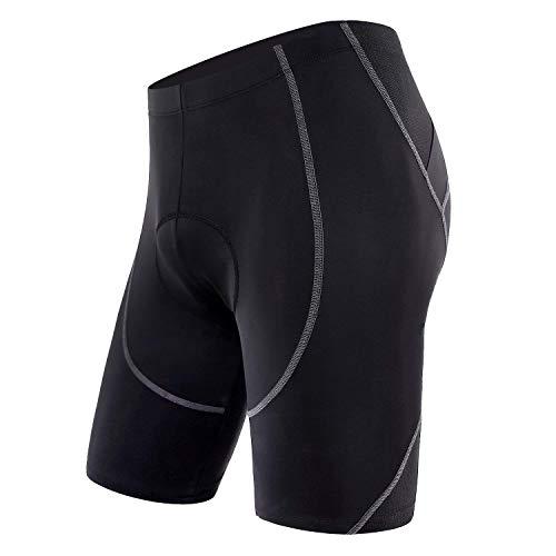 Sportneer Men's Padded Cycling and Biking Shorts Medium