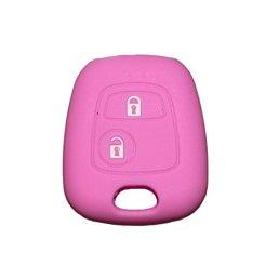 Coque-silicone-Tlcommande-Cl-de-Voiture-Smart-Coupe-de-cls-pour-Peugeot-107-207-307-407-106-206-306-406-205-405-1007-2-boutons-1-New