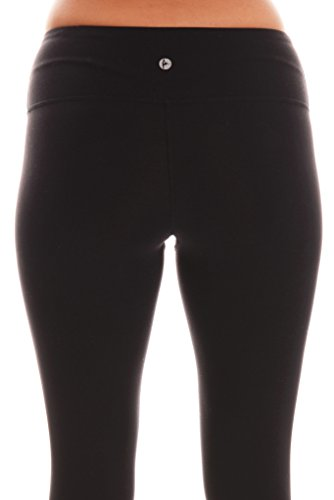 31WE i73n5L SOLID: 87% Nylon 13% Spandex, HEATHER: 47% Nylon 46% Polyester 7% Spandex, SPACE DYE: 90% Polyester 10% Spandex Perfect for yoga, exercise, fitness, any type of workout, or everyday use. 90 Degree by Reflex Yoga Leggings combine fashion, function and performance. These Power Flex Pants for women are made from the highest quality fabrics designed to remove moisture from your body, providing maximum comfort.