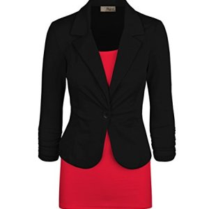 HyBrid & Company Womens Casual Work Office Blazer Jacket Made in USA 24 Fashion Online Shop gifts for her gifts for him womens full figure