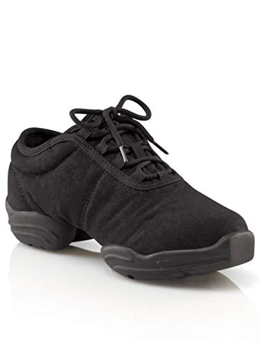 Capezio  Canvas Dance Sneaker,Black,7 M US