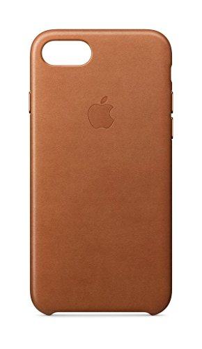 Apple Leather Case (for iPhone 8 / iPhone 7) - Saddle Brown - MQH72ZM/A