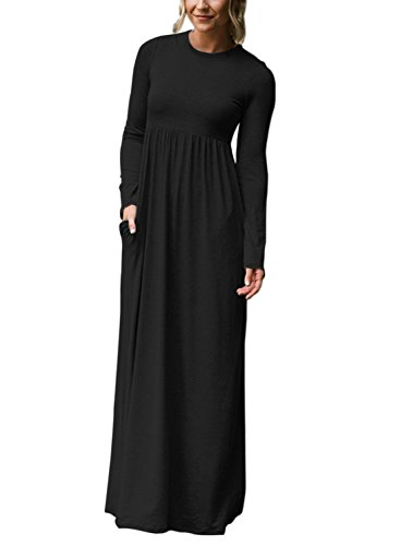 31XVWX9o8sL Please check SIZE MEASUREMENT in the description before purchase. Round Neck, Plain Loose Dress, Casual Style, Two Handy Side Pockets, You will Love it . Soft and Stretchy Fabric, Very Comfy to Wear
