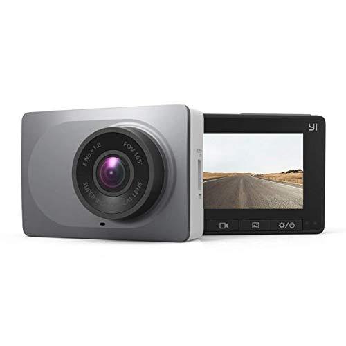 YI 2.7' Screen Full HD 1080P60 165 Wide Angle Dashboard Camera, Car DVR Vehicle Dash Cam with G-Sensor, WDR, Loop Recording, Grey