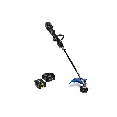 Kobalt 80-Volt Max 16-in Straight Brushless Cordless String Trimmer with 2.0-Ah Battery & Charger