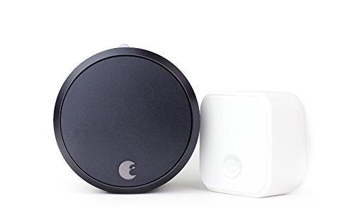August-Smart-Lock-Pro-Connect-3rd-gen-technology-Dark-Gray-works-with-Alexa