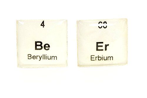 Periodic Table Beer Cufflinks, Science Cufflinks, Physics Cufflinks