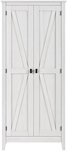 Ameriwood Home SystemBuild Storage Cabinet, Ivory Pine