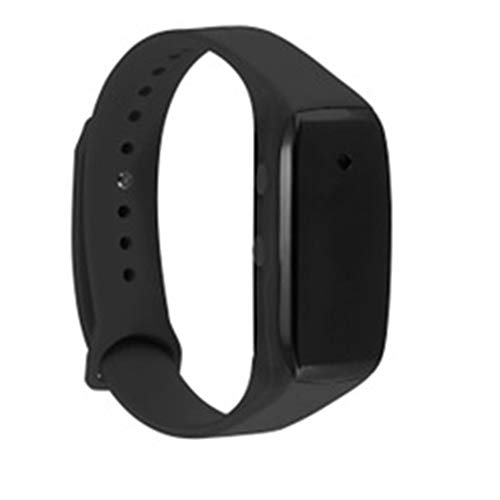 GXLO Sport Watch Hidden Cameras 1080P Smart Bracelet Style Mini Video Recorder Spy Camera with Time Display and Recording,Black