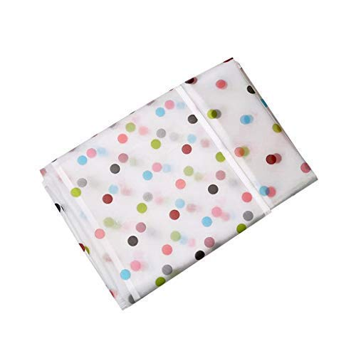 31Yf9rsrMhL SVK Dream Home Transparent Printing Waterproof Cloth dust Cover Household Refrigerator Cover Towel Hanging Storage Bag Flamingo 130 X 55cm in White Color (Color May Vary)