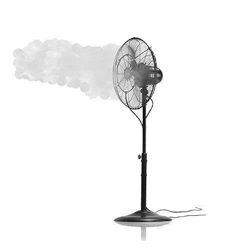 Patent Pending Fan Misting Kit for a Cool Patio Breeze - Leak Blocker Added, Turns Heat...