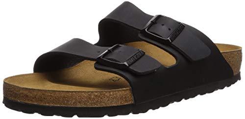 Birkenstock Men's Arizona 2-Strap Cork Footbed Sandal Black 42 M EU