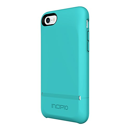 Incipio Stashback iPhone 8 & iPhone 7 Case with Credit Card Slot Holder and Foldable Back Panel for iPhone 8 & iPhone 7 - Turquoise