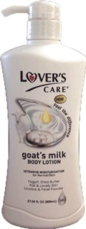 Lover's Care Goat's Milk Body Lotion - Pearl Powder 27.05 fl oz