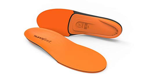 Superfeet ORANGE Insoles, High Arch Support and Forefoot Cushion Orthotic Insole for Anti-fatigue, Unisex, Orange, XX-Large/G: 14.5+ Wmns/13.5-15 Mens