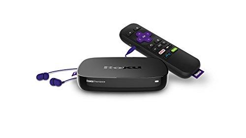Roku Premiere+ Streaming Media Player  Image of 31ZrM6xR3dL