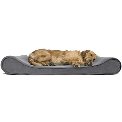 FurHaven Lux Lounger Dog Bed