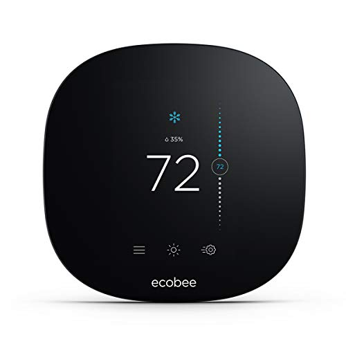 ecobee EB-STATE3LT-02 3 Lite Smart Thermostat Black