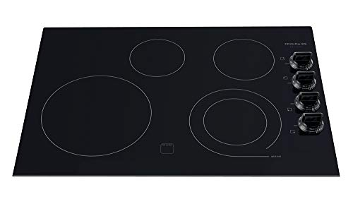 Frigidaire Gallery Black 30' 30 Inch Electric Stovetop Cooktop FGEC3045KB