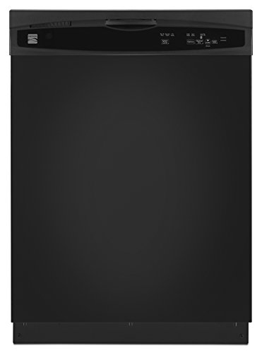 "Kenmore 13809 24"" Built-in Dishwasher in Black, includes delivery and hookup (Available in select cities)"