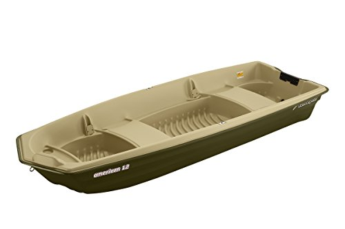 Sun Dolphin American 12 Jon Fishing Boat (Beige/Green, 12-Feet)